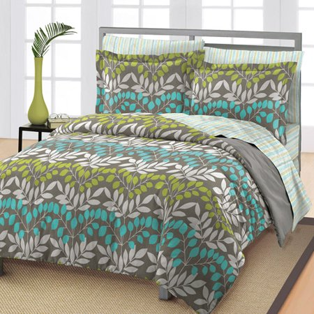 loft style leaves bedding comforter set. Black Bedroom Furniture Sets. Home Design Ideas