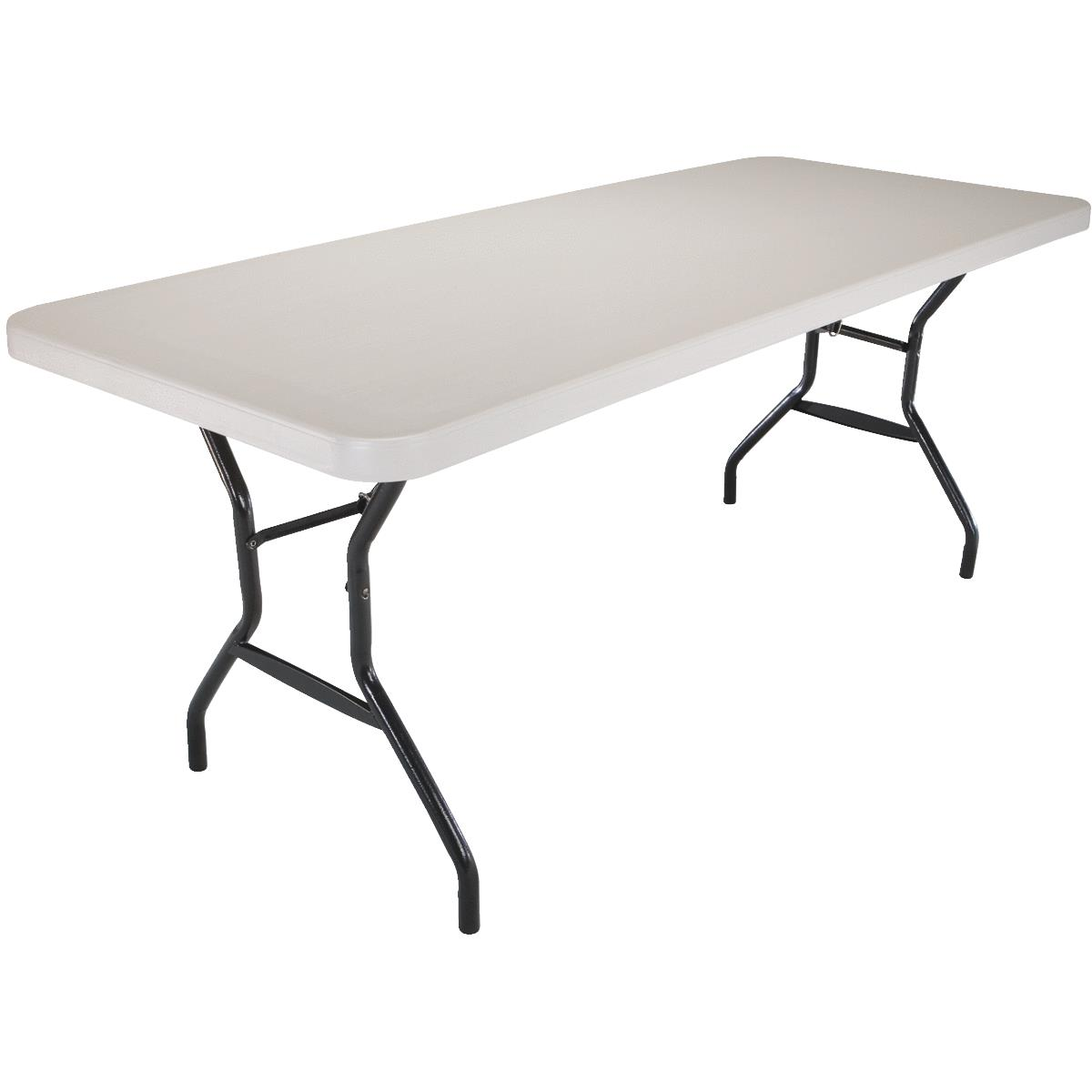 Lifetime Rectangle Hourglass Leg Folding Table
