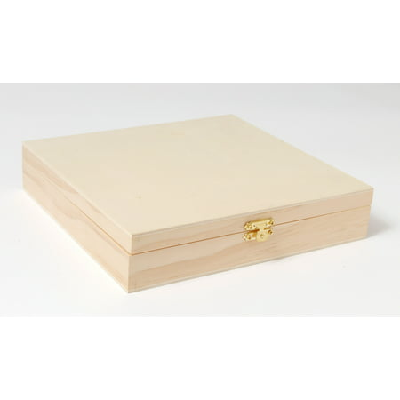Waverly Inspirations 838 X 813 X 175 Hinged Cigar Box 1 Each