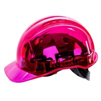 Portwest PV64 Peak View Ratchet Hard Hat-Pink