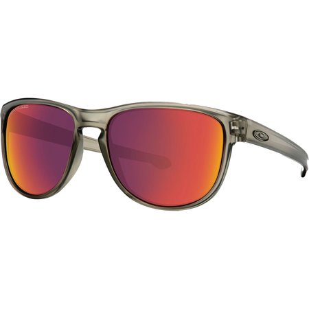 3a6aee8805 Oakley Sliver R Sunglasses - Polarized Matte Grey Ink w Torch Iridium Polar  One Size - Walmart.com