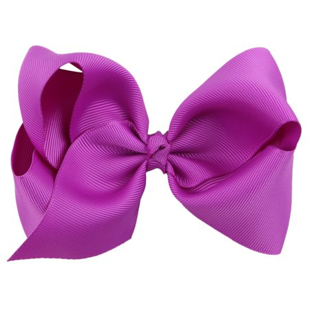 Kids' Children's Butterfly Knot Hair Clip Pure Color Bowknot Hairpin Bobby Pin