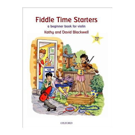 Fiddle Time Starters + CD : A Beginner Book for