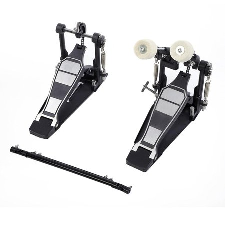 herchr drums pedal double bass dual foot kick percussion drum set accessories for jazz drum. Black Bedroom Furniture Sets. Home Design Ideas