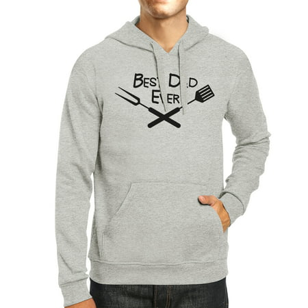 Best Bbq Dad Gray Funny Design Hoodie Witty Gifts For Barbeque Dad