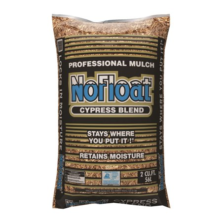 - No Float Cypress Mulch, 2CF by Oldcastle