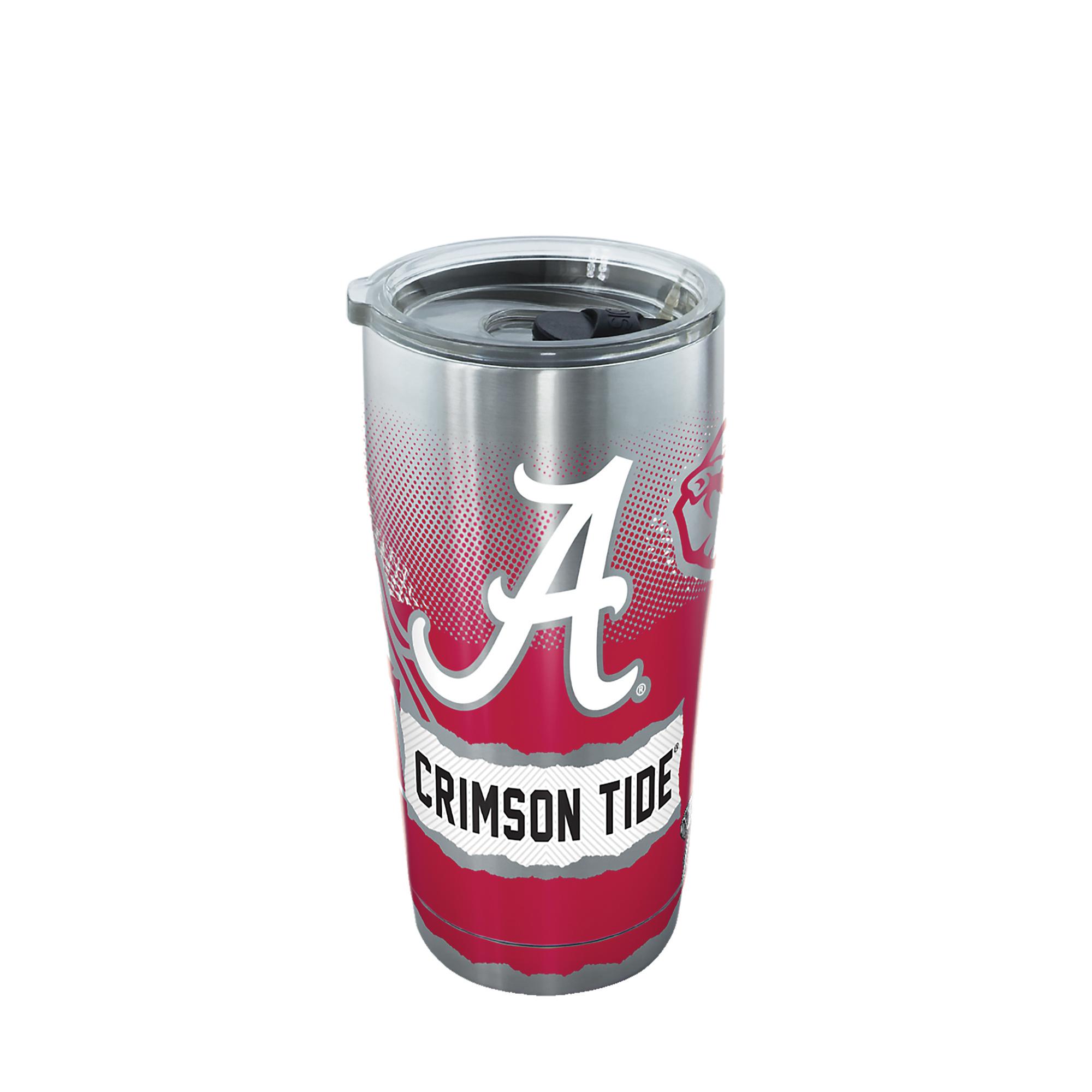 Alabama Crimson Tide Stainless Steel 20 oz Hydrate Tumbler Black
