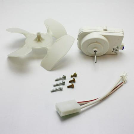 W10124096 For Whirlpool Refrigerator Condenser Fan Motor