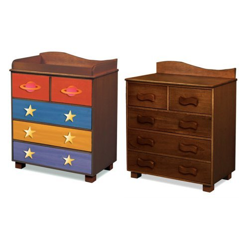 Room Magic Star Rocket 5 Drawer Chest