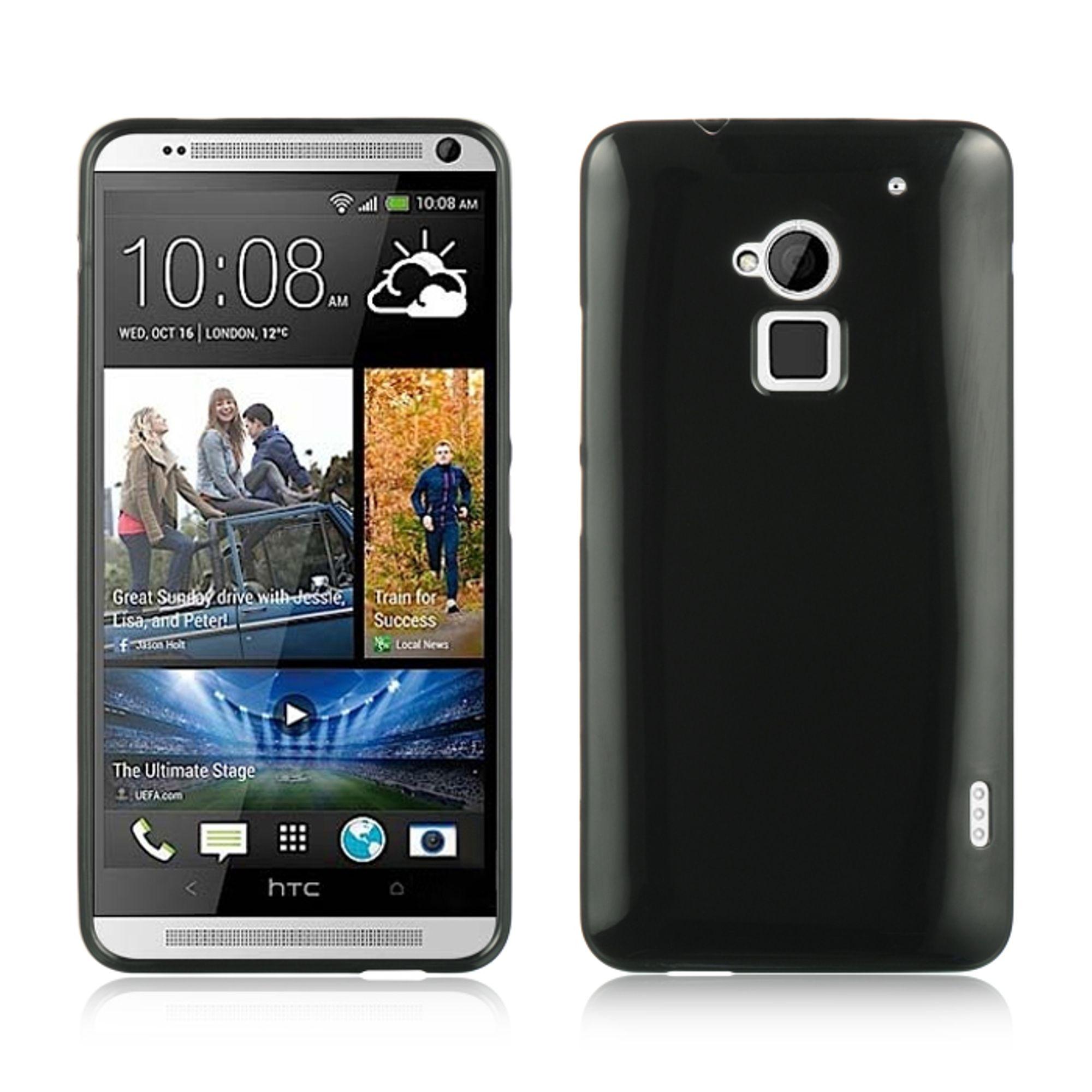 Insten Gel Case For HTC One Max - Black