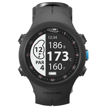 Posma GB3 Golf Triathlon Sport GPS Watch Range Finder Smart GPS Watch for Running Cycling Swimming - Android iOS (Best Golf Gps App For Iphone)