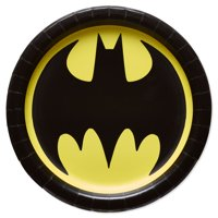 American Greetings 9Inches Batman Paper Party Plates, 8 Count