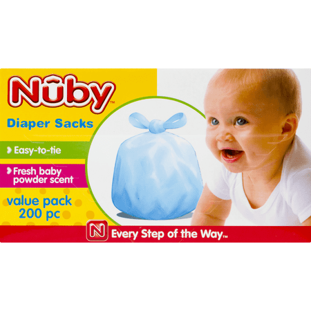 Nuby Diapers - Nuby Scented Diaper Sacks (200 Piece)