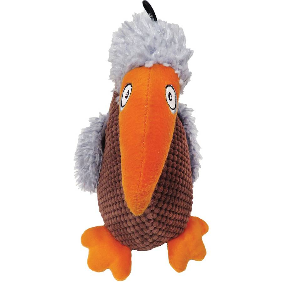Plush Buddy Buzzard Dog Toy, 9.5""