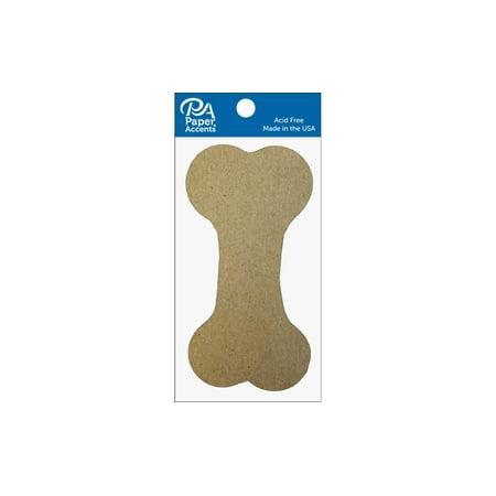 Chip Shape 8pc Dog Bone Natural
