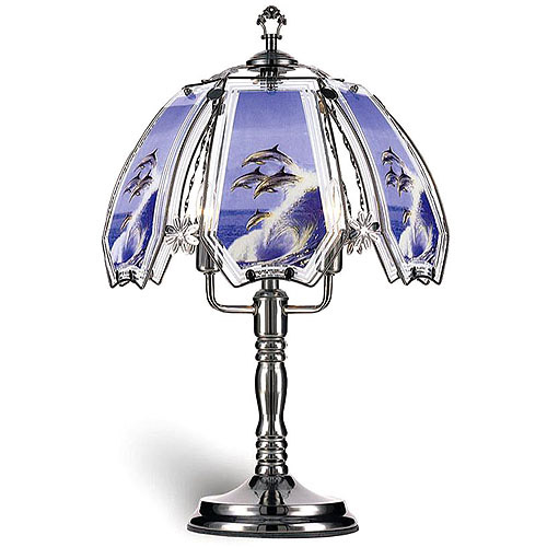 "ORE International 23.5"" Dolphin Touch Lamp"
