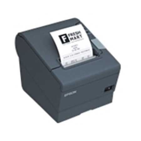 Refurbished Epson C31CA85834 TM-T88V Direct Thermal Printer with Auto Cutter - Monochrome - 708.7 ipm - Parallel, USB - 24V DC - Dark (Thermal Auto Cutter)