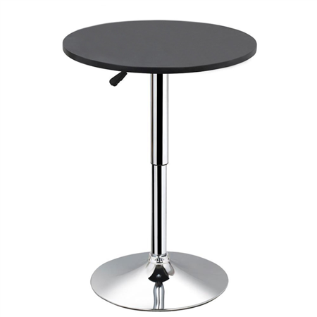 Yaheetech Adjustable Height Pub Bar Table Counter,Round & Square