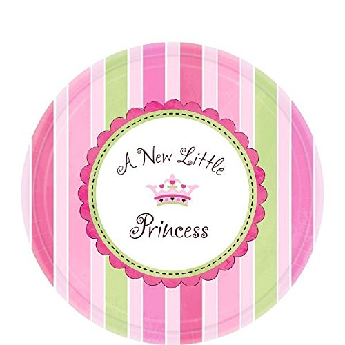 Amscan Pretty Little Princess Baby Shower Party Supply Dessert Paper