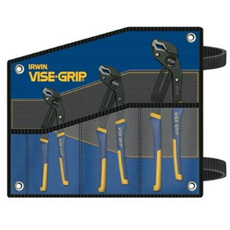 Irwin Vise-Grip 586-2078711 3 Piece Groovelock Plierset 8 10&12