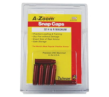 A-Zoom Revolver Snap Caps - 32 H & R Mag - 6 per Pack