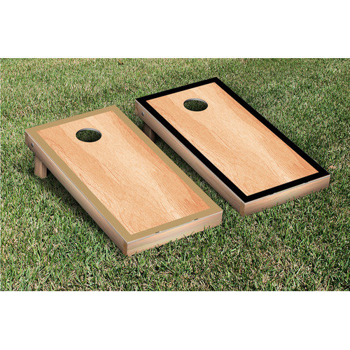 Victory Tailgate Alternating Border Cornhole Bean Bag Toss Game
