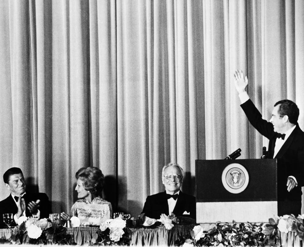 Richard Nixon (1913-1994)N37Th President Of The United ...