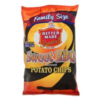 Better Made Special Sweet BBQ Potato Chips Family Size, 9.5 Oz.