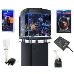 JBJ 28 Gallon Nano Cube WiFi LED Aquarium BASIC REEF (Best Nano Reef Aquarium)