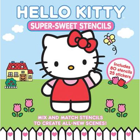 Hello Kitty Super Sweet Stencils - Halloween Hello Kitty Color Pages