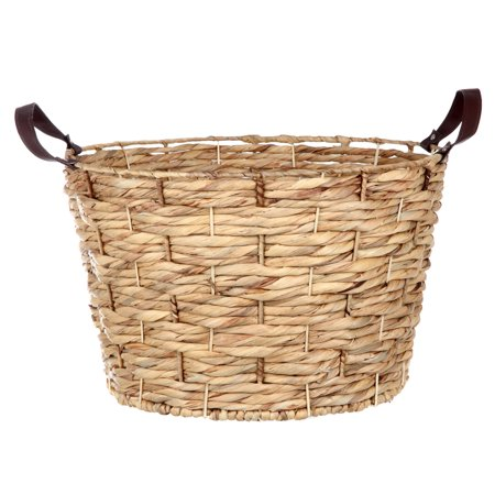 Gardens Paradise Basket (Better Homes & Gardens Round Water Hyacinth Basket)