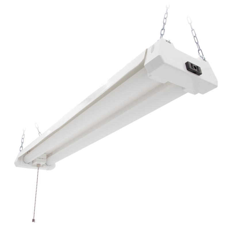 Maxxima 2ft. Utility Led Shop Light Fixture, Linkable