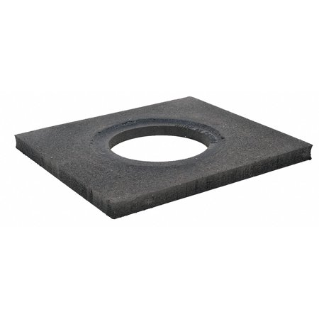 Base Trim - Cortina Safety Products 03-752-10# 10# Recycled Rubber Base Only For Trim Line Channelizer