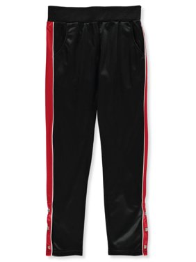 Dream Star Girls' Ankle-Snapped Tricot Track Pants