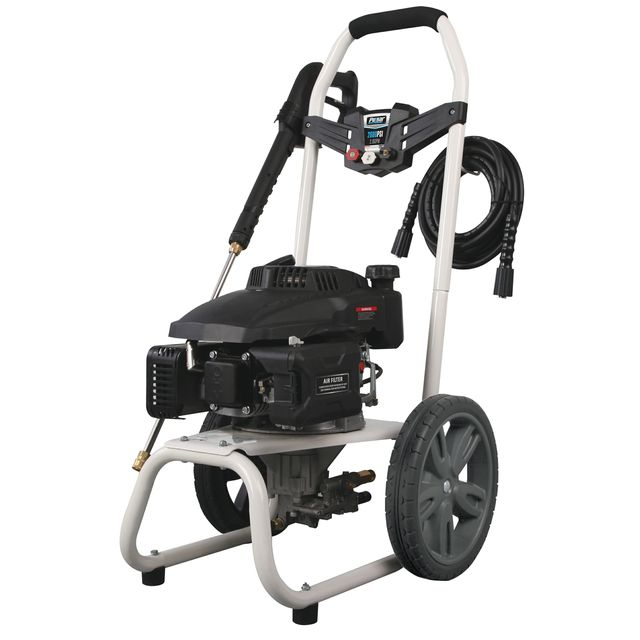 Pulsar W27H18 2,700 PSI, 2.3 GPM Gas-Powered Pressure Washer with 3 Quick Connect Nozzles & 1 Standard Soap Nozzle, and Detergent Siphoning Tube with Strainer