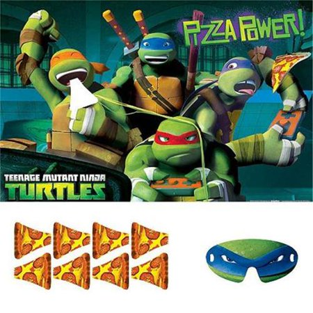 Teenage Mutant Ninja Turtles Party Game Poster (1ct)](Teenage Halloween Games)