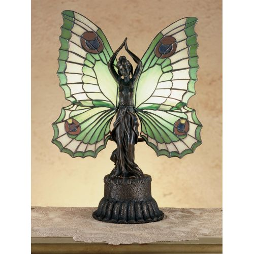 Meyda Tiffany 48019 Stained Glass / Tiffany Specialty Lamp from the Lighted Sculptures Collection
