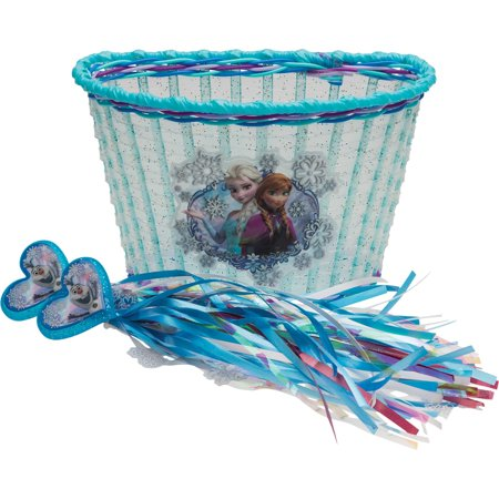 Topeak Bike Basket - Disney Frozen Accessory Pack Bike Basket and Streamers