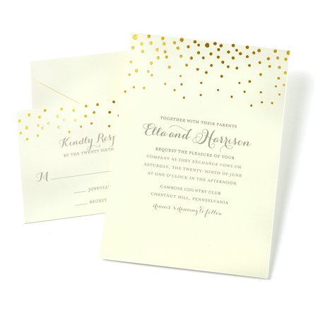 Gartner Studios Dot Invitations Walmart – Party Invitations Walmart