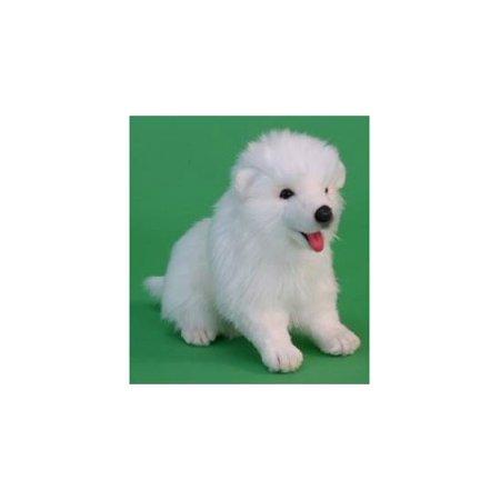 Hansa Samoyed Puppy Plush Toy Walmartcom
