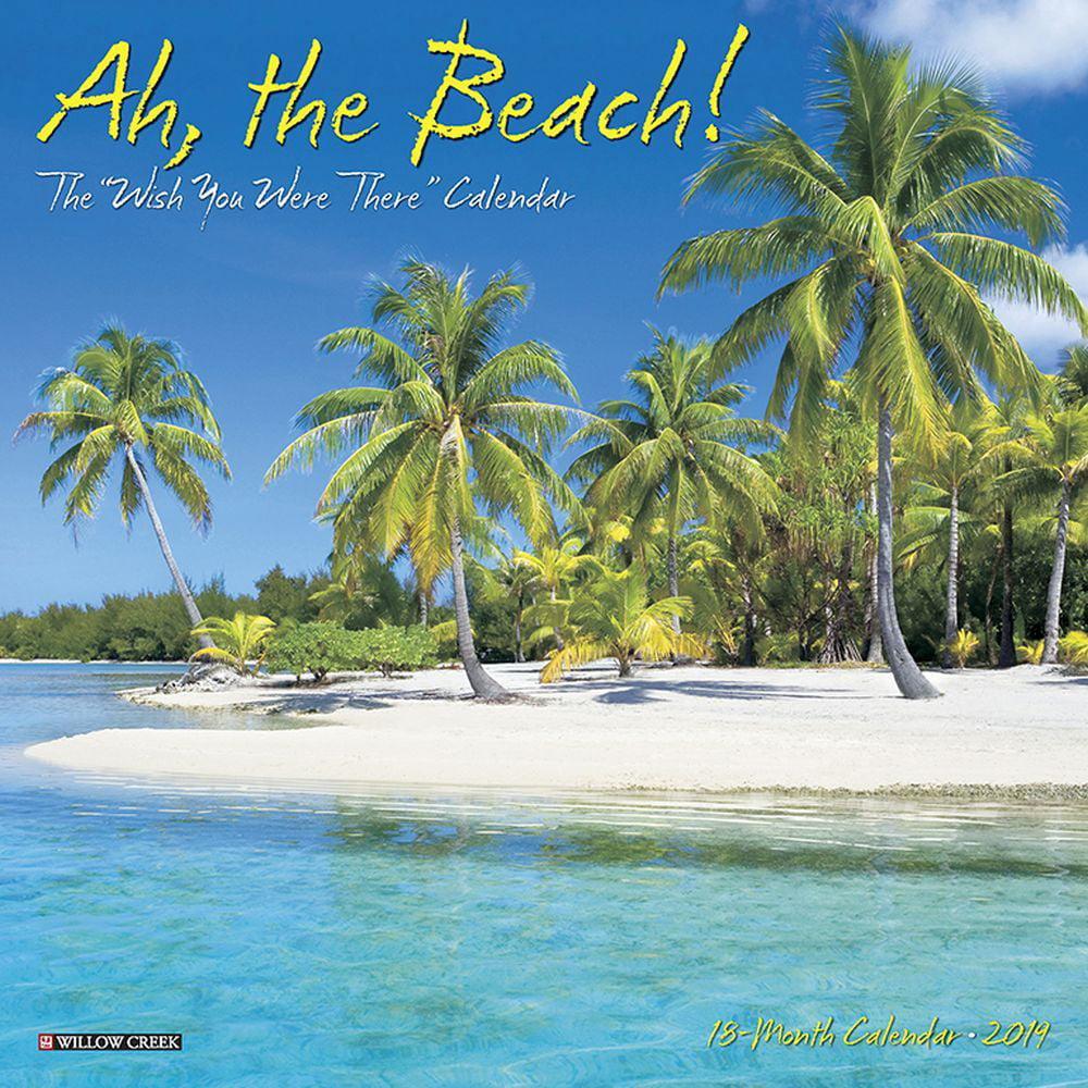 Ah The Beach Mini Wall Calendar, Beaches by Calendars