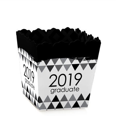 Black and White Grad - Best is Yet to Come - Party Mini Favor Boxes - Black and White 2019 Graduation Party Treat (Best Tennis Bags 2019)