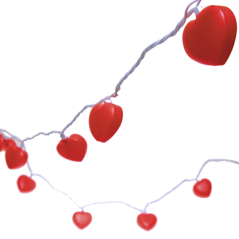 Valentine Heart Shaped String Light Set