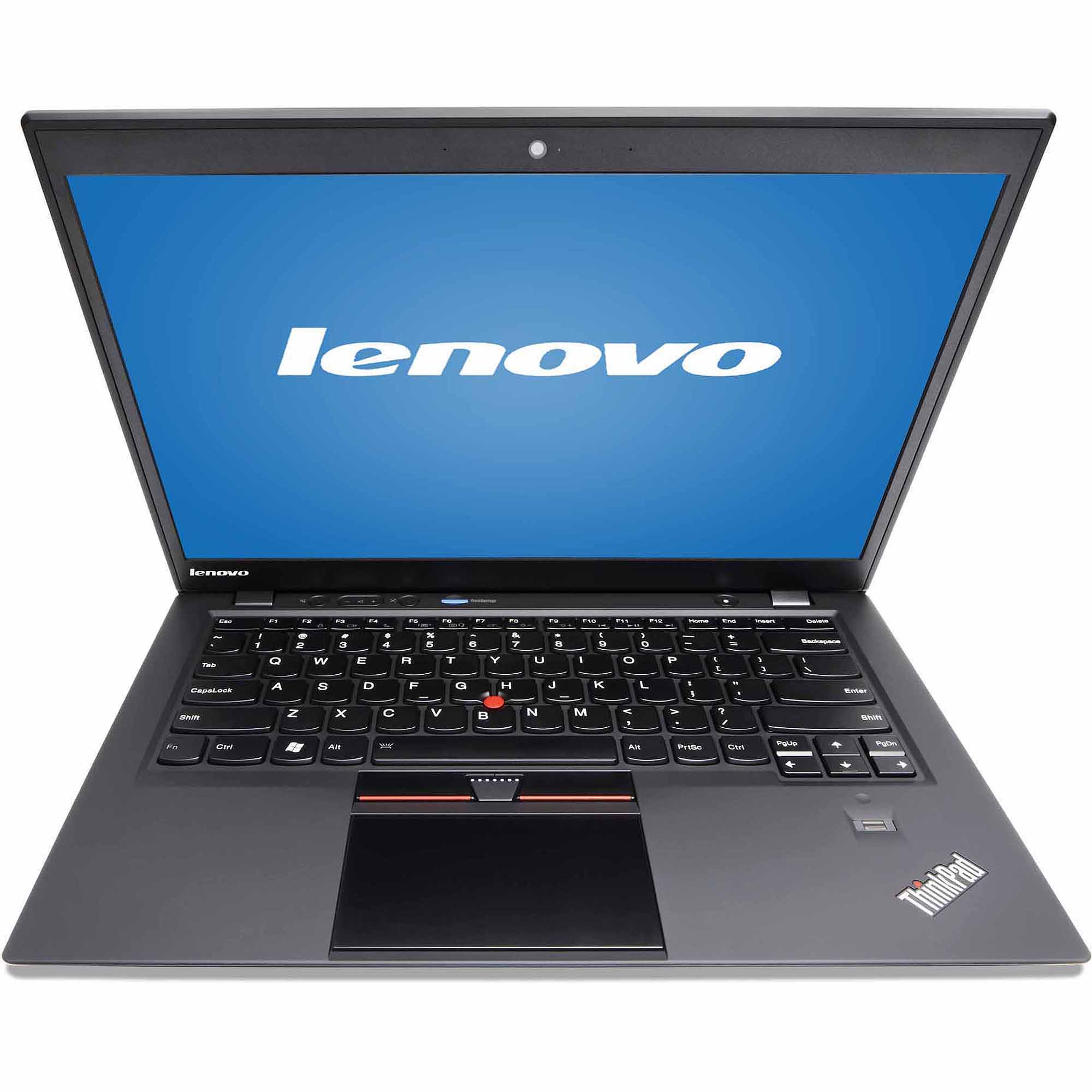 "Lenovo Black 14"" ThinkPad X1 Laptop PC with Intel Core i7-4600U Dual-Core Processors, 8GB Memory, Touchscreen, 256GB SSD and Windows 8.1 Pro"