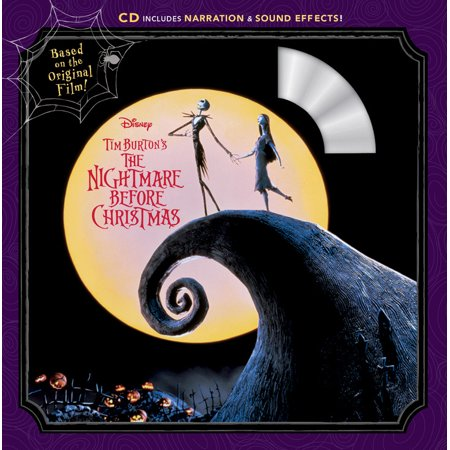 Tim Burton's the Nightmare Before Christmas [With Audio CD] (Paperback) (Halloween Music Nightmare Before Christmas)