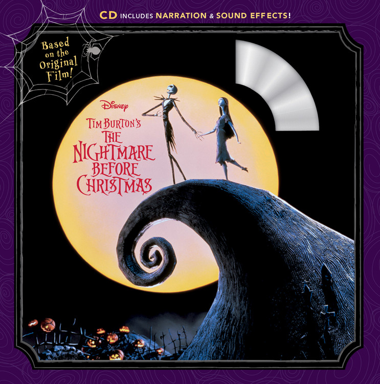 Tim Burton's the Nightmare Before Christmas [With Audio CD] (Paperback)