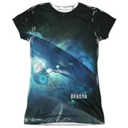 Star Trek Beyond Out There (Front Back Print) Juniors Sublimation Shirt