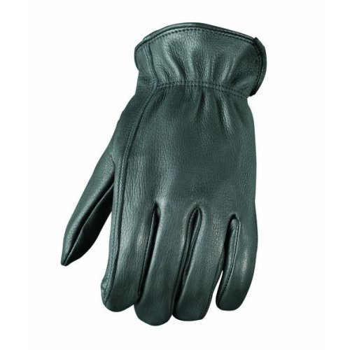 Mossi Mens Unlined Patrolman Glove Small Black