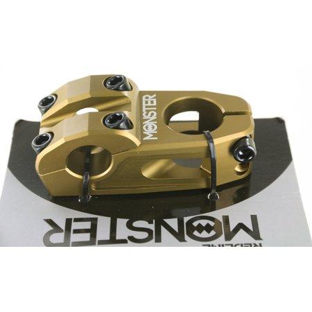 Redline Monster 1-1/8 x 53mm x 22.2mm BMX Bike Threadless CNC Alloy Stem NEW (Bmx Bicycle Stem)