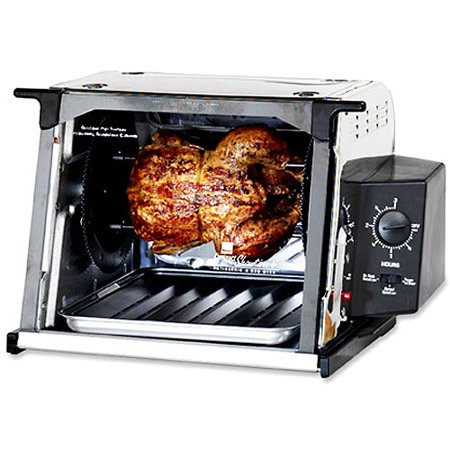 ronco stainless compact rotisserie. Black Bedroom Furniture Sets. Home Design Ideas